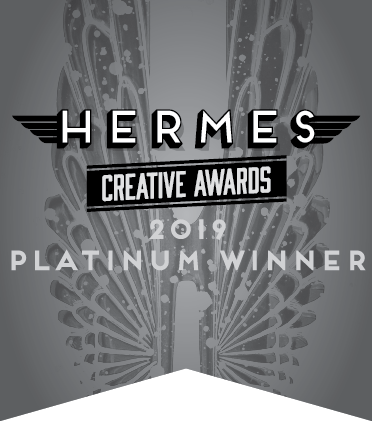 A little daily dose won the Hermes platinum award